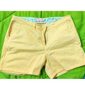 Sunny yellow shorts